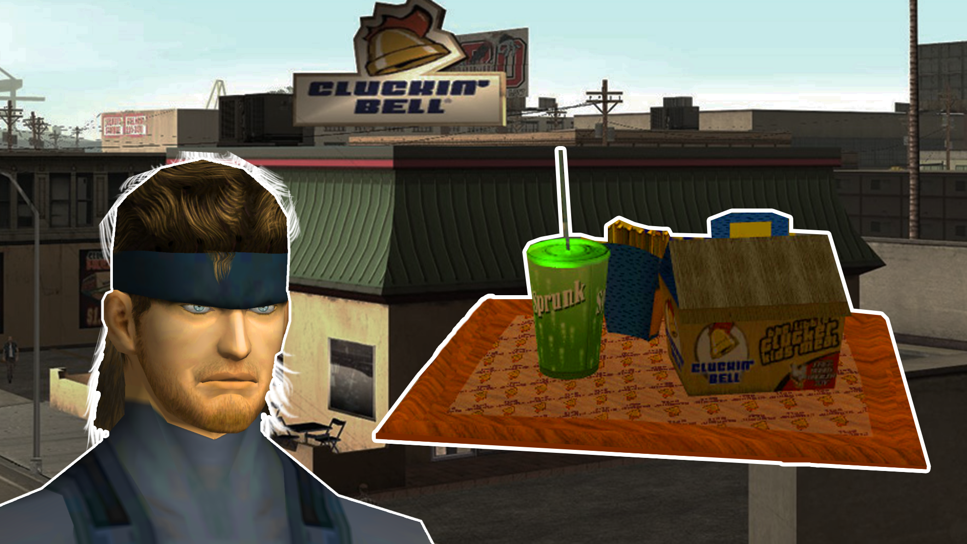 Big Smoke's Famous Fast Food Order From GTA San Andreas Said By Solid Snake