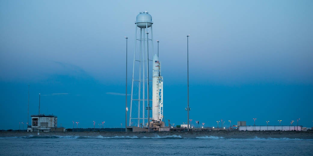 LIVE: Watch The Antares Rocket Launch To The ISS