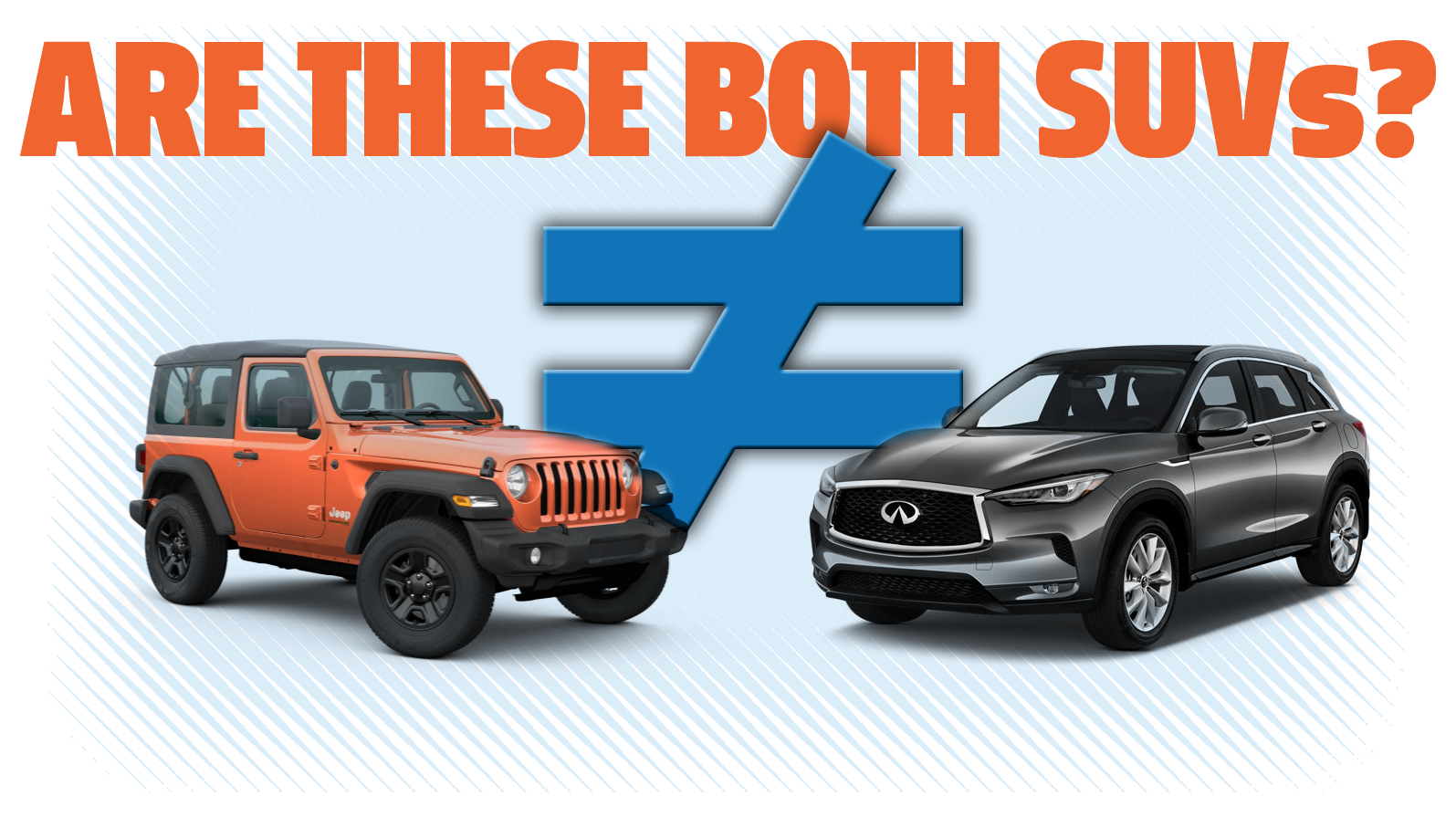 We Need A New Name For Vehicles Like The Wrangler And Bronco Because SUV Doesn't Work Anymore