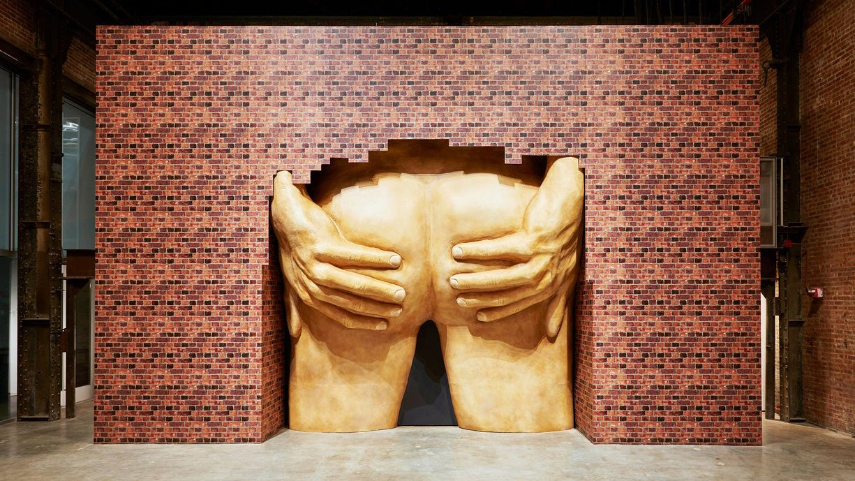 A 3D Scan of a Famous Graphic Designer's Arse Could Win the World's Most Famous Art Prize
