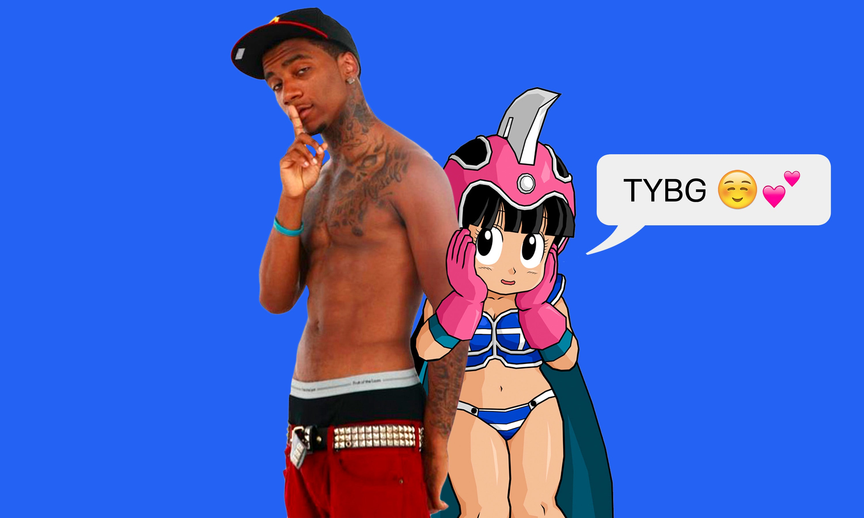 Lil B Talks About Dragon Ball Z