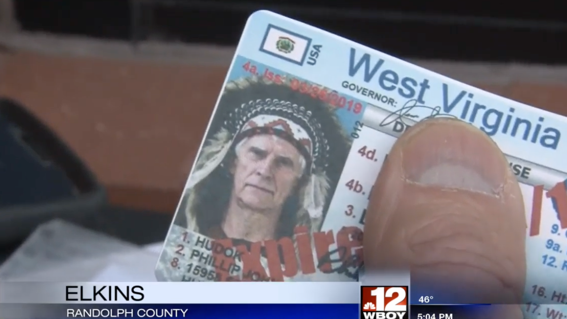 West Virginia Man Fights Biometric Drivers Licence By Being Very Racist
