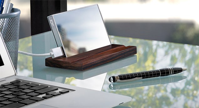 LaCie Wrapped This 1TB External Drive in Mirror-Finish Gorilla Glass