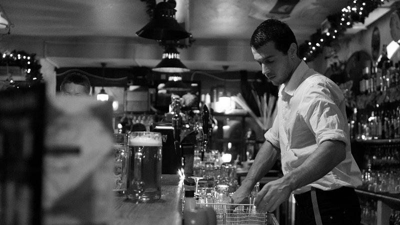 Make Quick Friends With A Bartender By Using Cash Before Opening A Tab