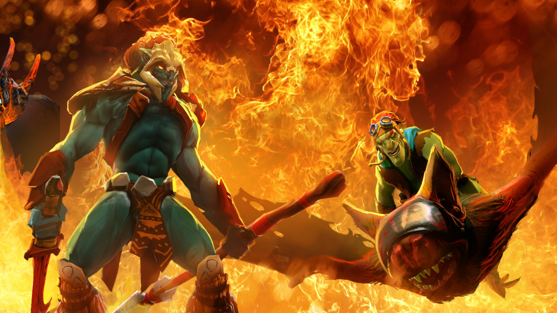 dota 2 team wins tournament while almost never picking the same