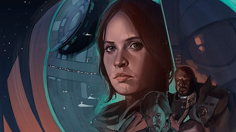 Look at Phil Noto's Amazing Rogue One Art, and Then Weep at Its Beauty
