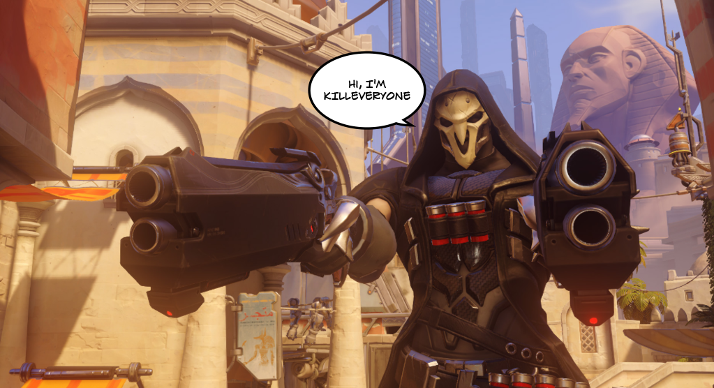 Reaper Players Always Have The Best Names In Overwatch