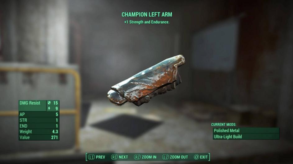 Fallout 4 Armour Basics