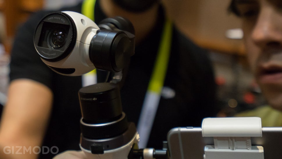 DJI Inspire 1 Mount Puts An Incredible 4K Drone Camera In Your Hand