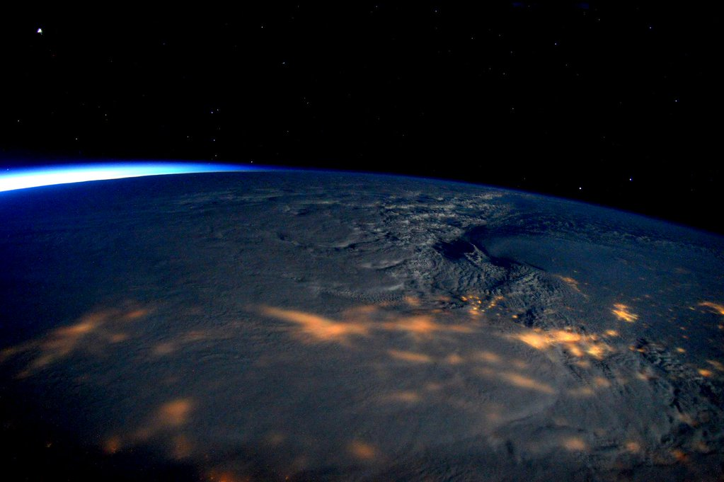 Commander Scott Kelly Has The Best View Of This Weekend's Blizzard