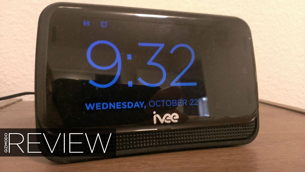 Ivee Sleek Review: The Dumbest Smart Clock Money Can Buy