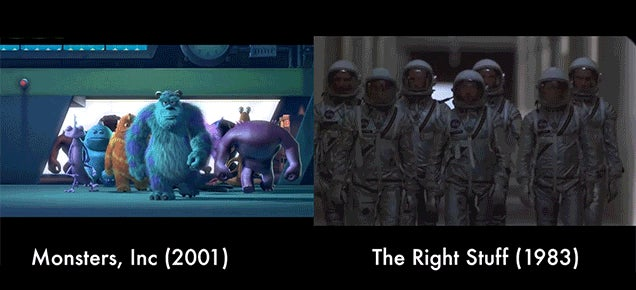 How Pixar Copies Scenes from Other Movies