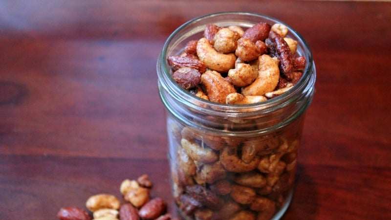 Trick Yourself Into Eating Heart-Healthy Nuts By Making Them Taste Like Pizza