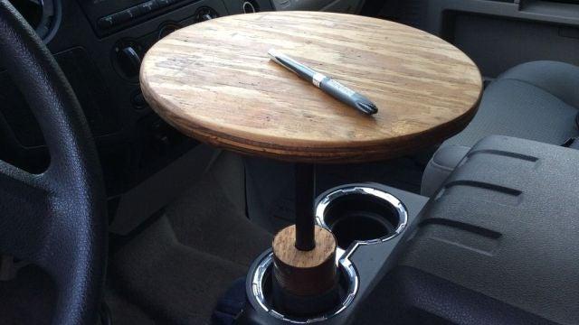 Make a DIY Portable Car Table