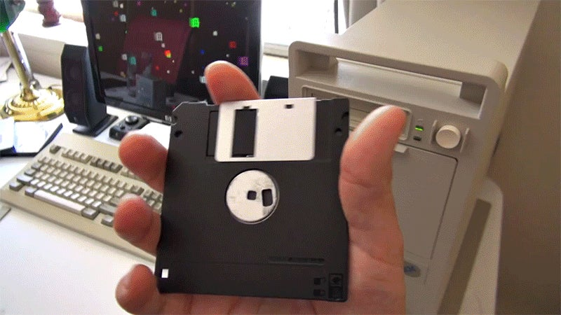 How to Make a 118 Gigabyte Floppy Drive