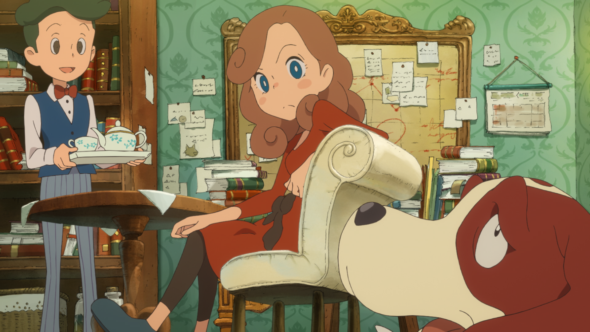 5 Hours With The New Layton: Great Writing, Weak Puzzles