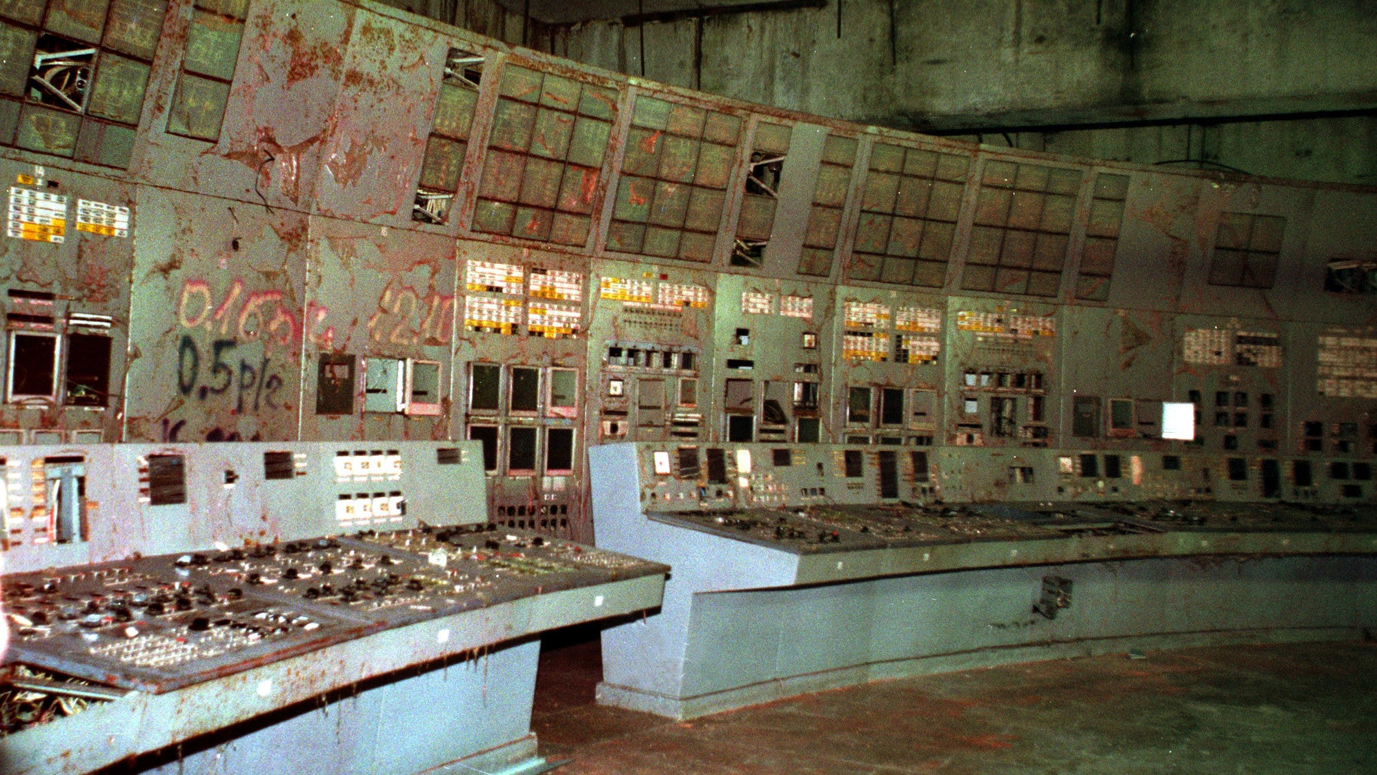 Chernobyl's Infamous Reactor 4 Control Room Is Now Open To Tourists