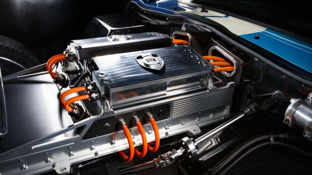 This classic beauty is one of the most powerful electric cars ever made