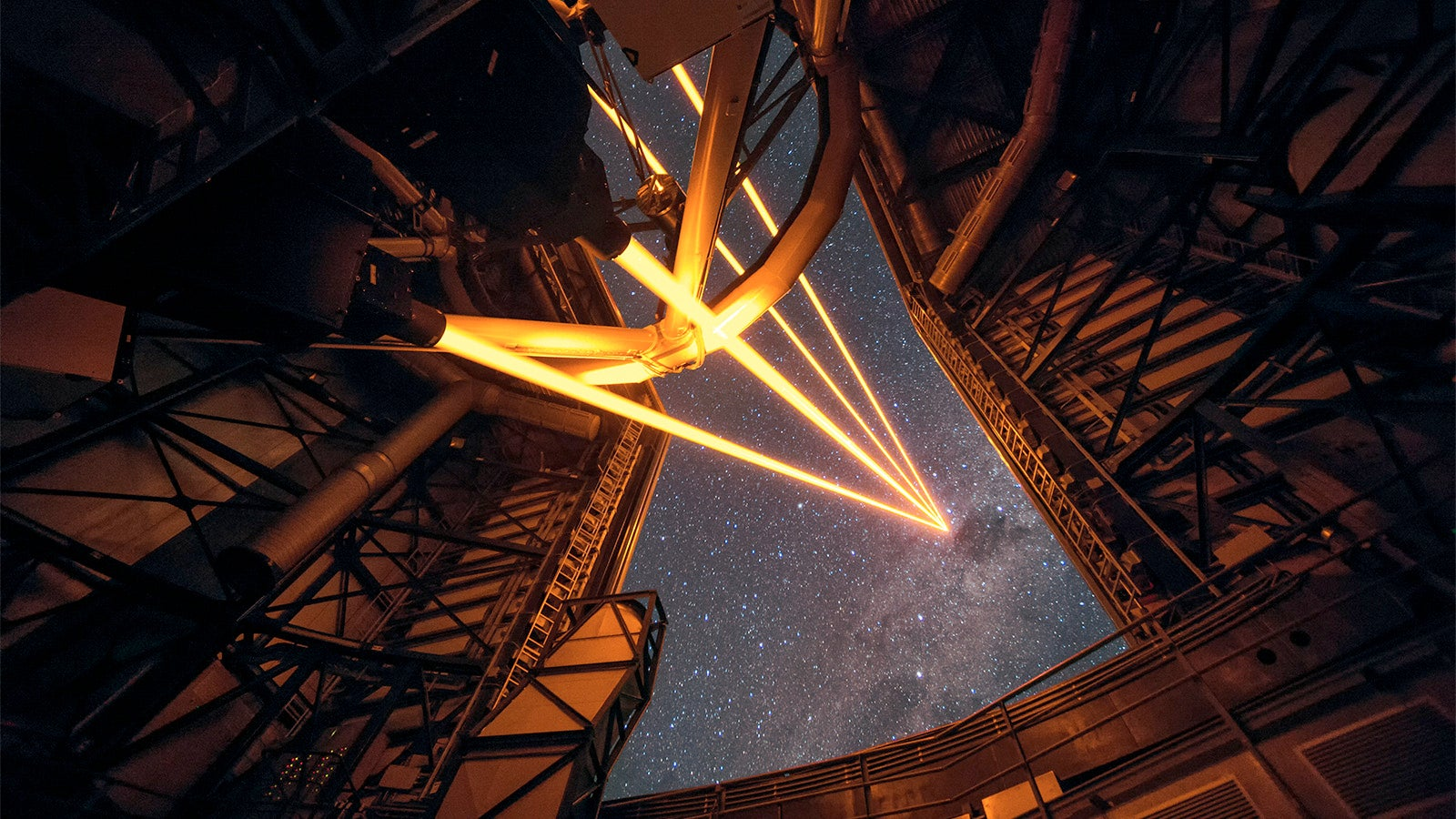 Four Laser Beams Will Create the World's Most Powerful Fake Stars