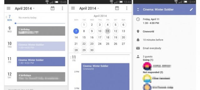 Could This Be the Clean New Look For Android's Built-In Calendar App?