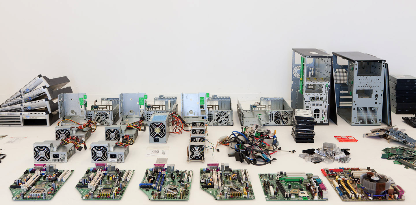 These Are the Rare and Precious Metals Mined From Inside Old Electronics