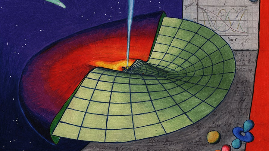 Fundamental Equation Of Quantum Physics Also Describes Rings And Disks In Space