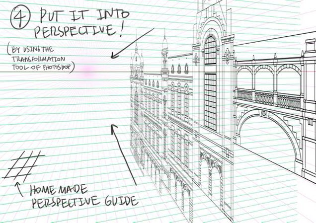 perspective drawings of buildings. Modren Buildings How To Draw Detailed Buildings On Perspective Drawings Of I