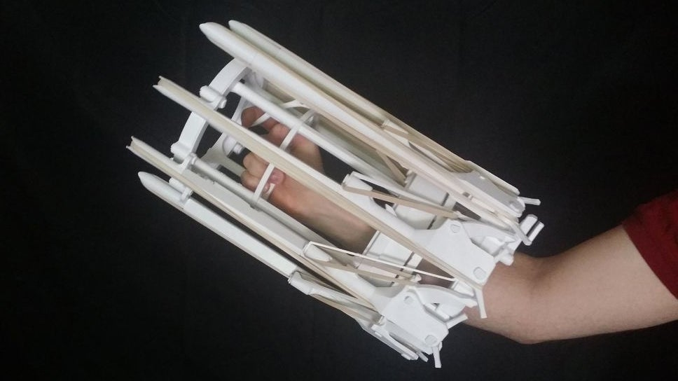 3D-Printed Gatling Gun Fires 48 Rubber Bands in Mere Seconds