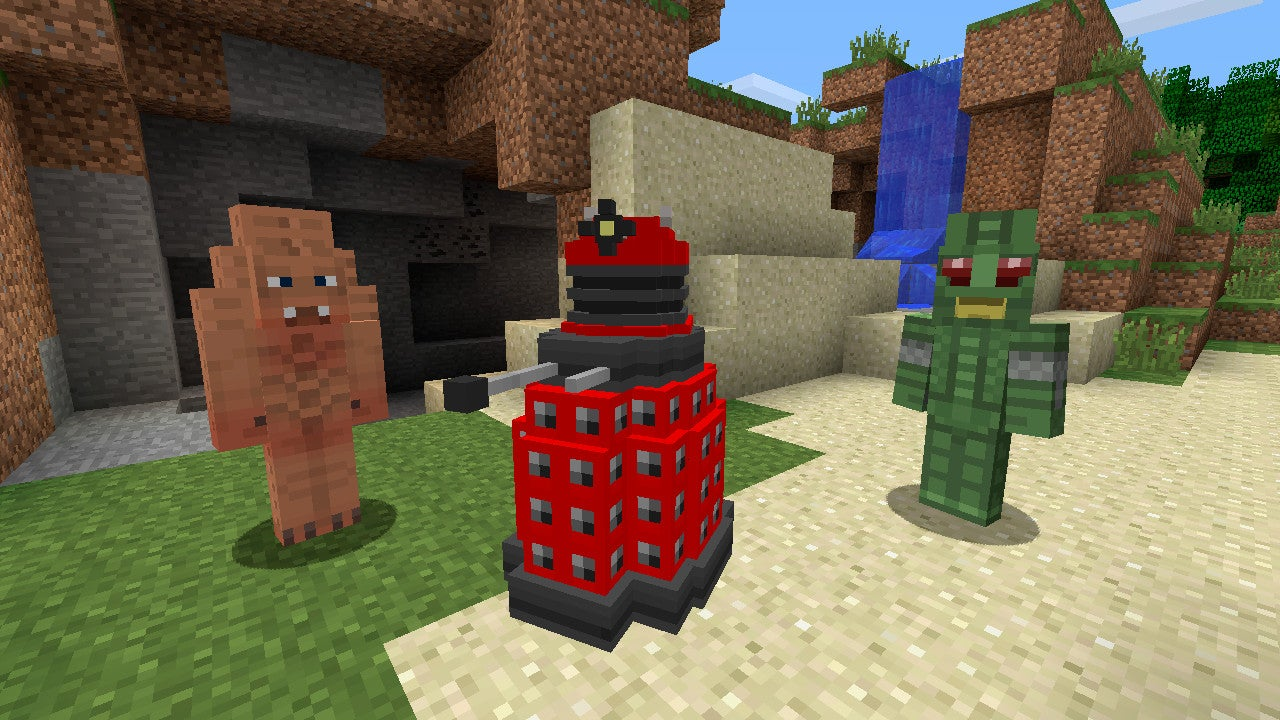 Minecraft-Doctor Who Partnership Results in Awful Pun