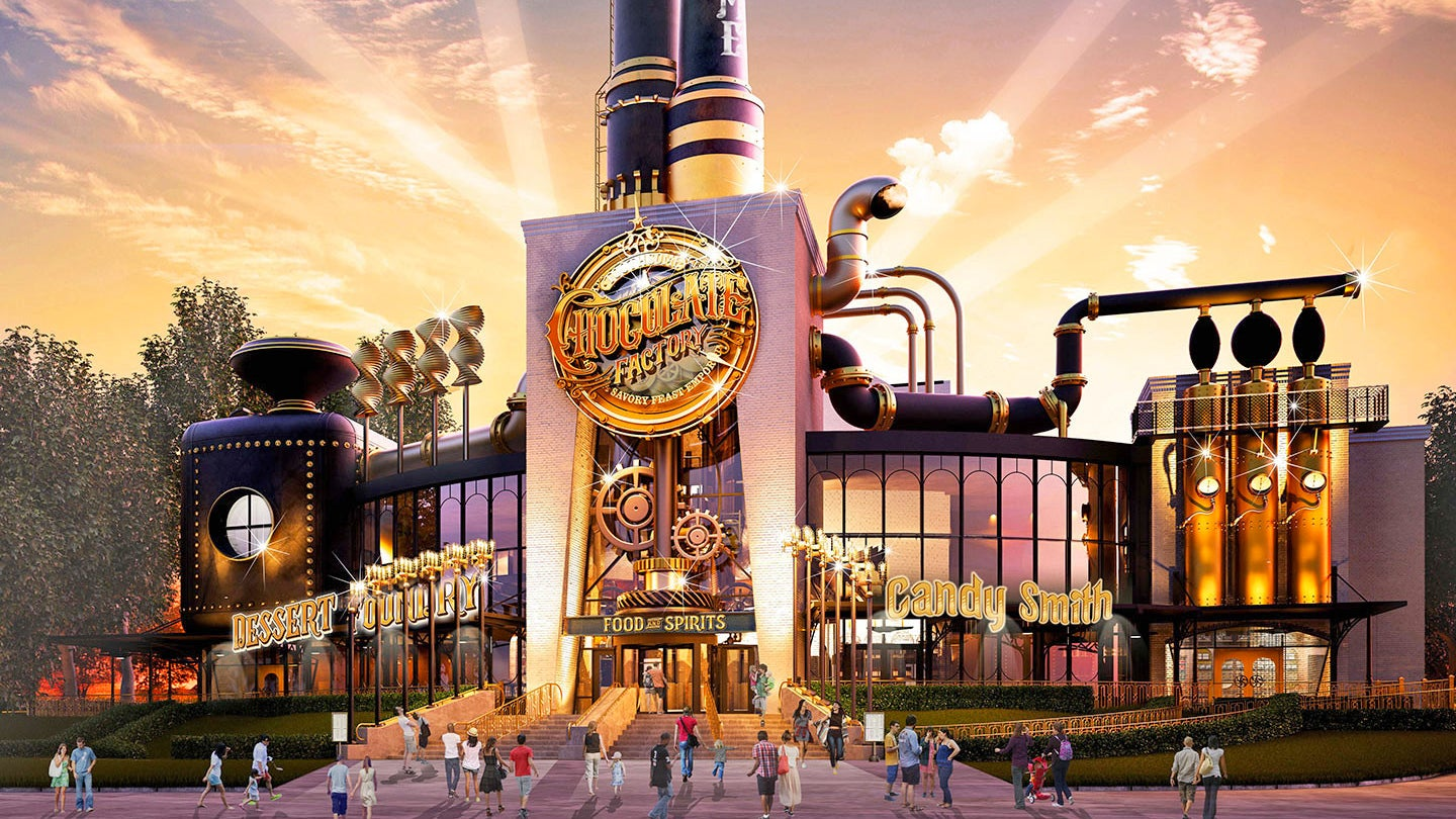 Holy Snozzberries, Universal Studios Is Building Willy Wonka's Chocolate Factory