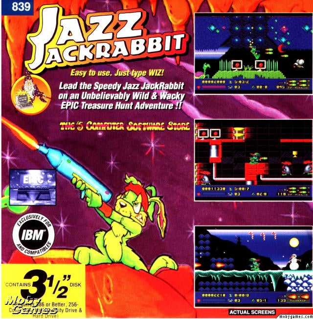 The First Five Furry Minutes Of Jazz Jackrabbit