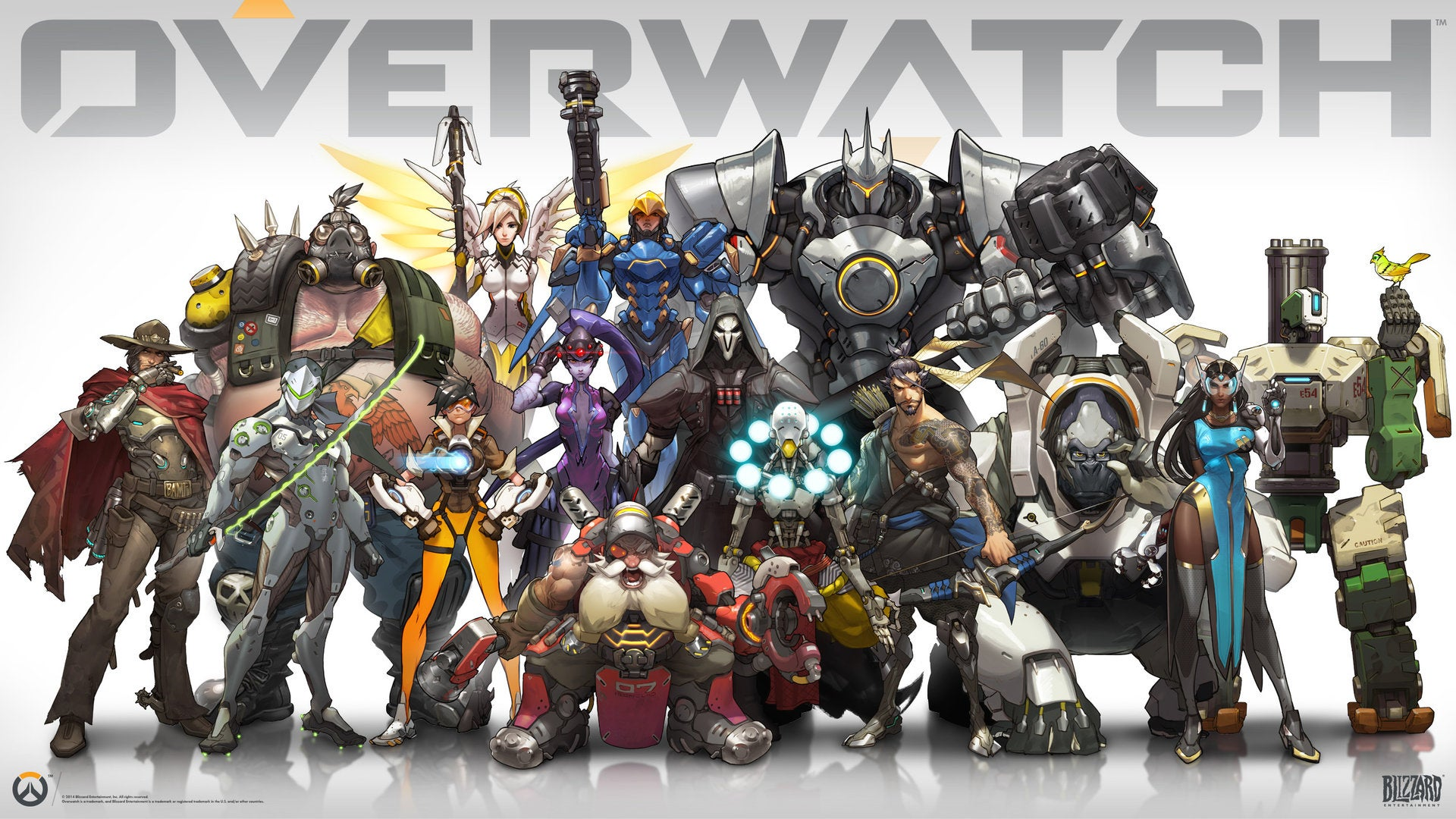 The Colourful Characters Of Overwatch