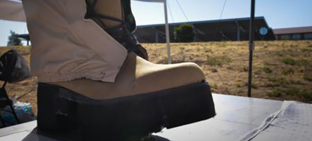 The Military's Power-Generating Boot Isn't Quite Battlefield Ready