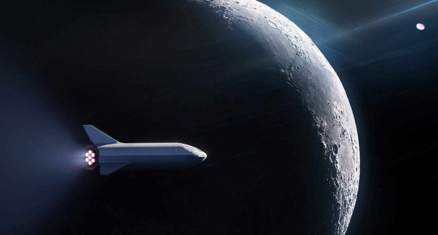 SpaceX Reboots Plan To Send Tourists Around The Moon, And It's About To Name The First Passenger