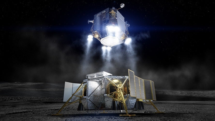 Boeing Reveals Its Proposed Lander For NASA's 2024 Moon Mission