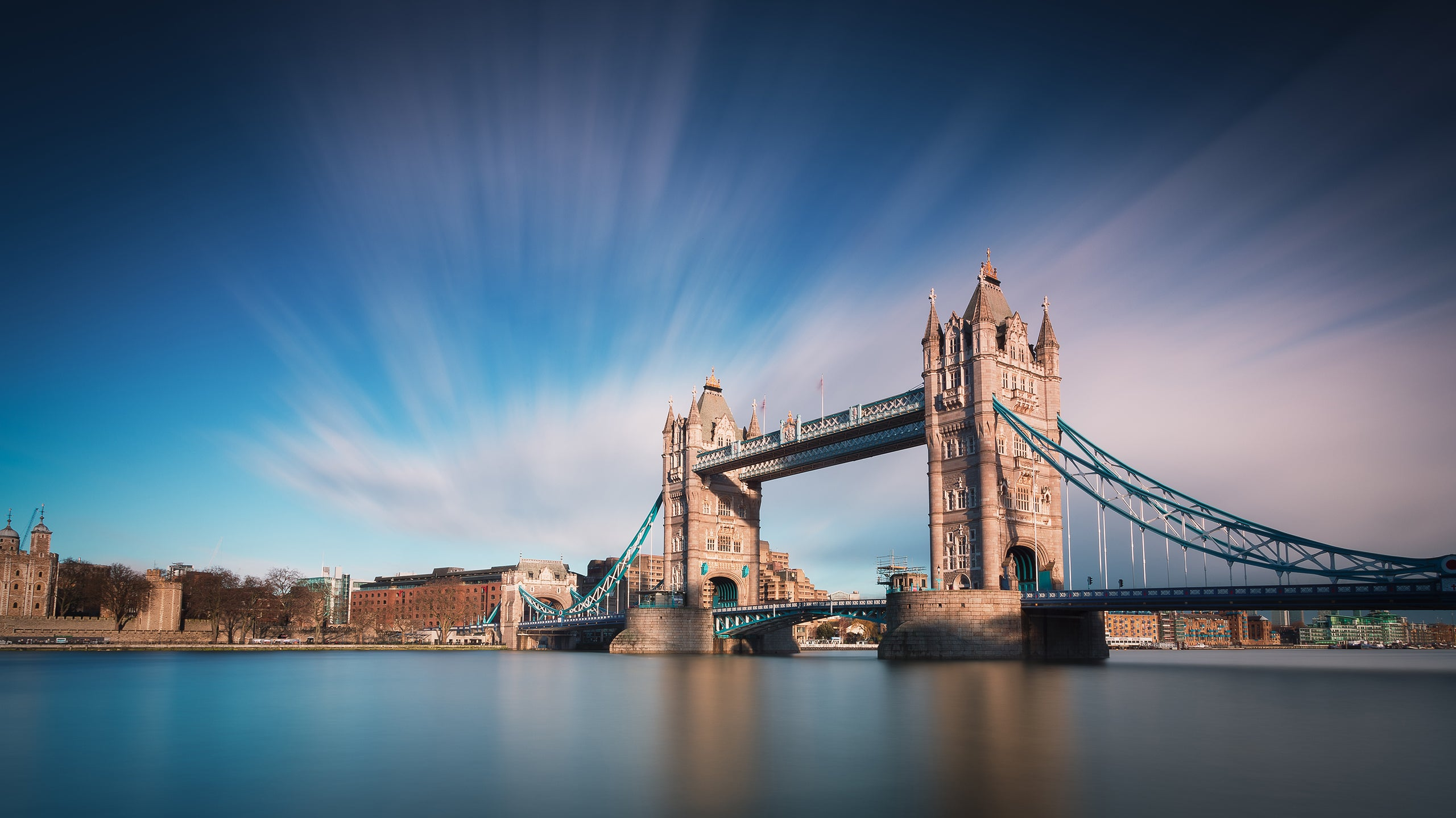 Cross Over Troubled Waters with These Beautiful Bridge Wallpapers