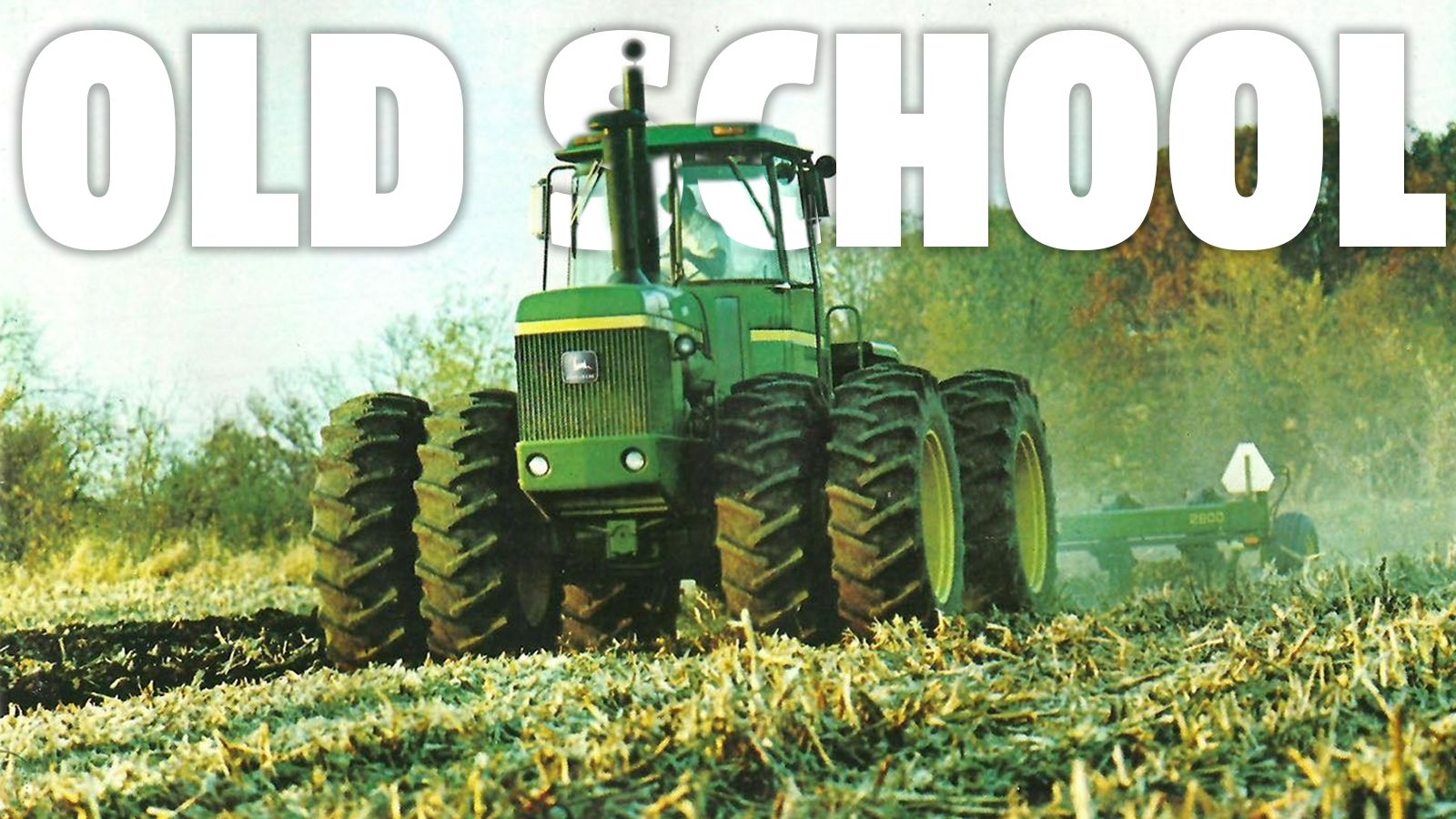 Classic Tractors From The '80s Are Becoming Popular With Farmers Sick Of High-Tech Bullshit