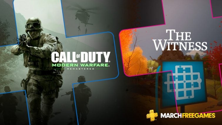 Modern Warfare And The Witness Are The Only PlayStation Plus