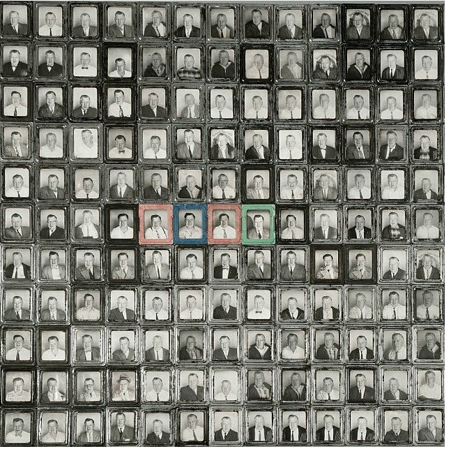 This Mystery Man Took Hundreds Of Photobooth Self-Portraits -- But Why?