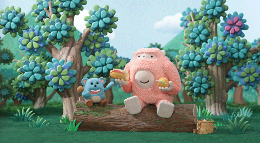 Foodie Monsters Eat Their Way To Friendship In This Adorable Stop-Motion Tale