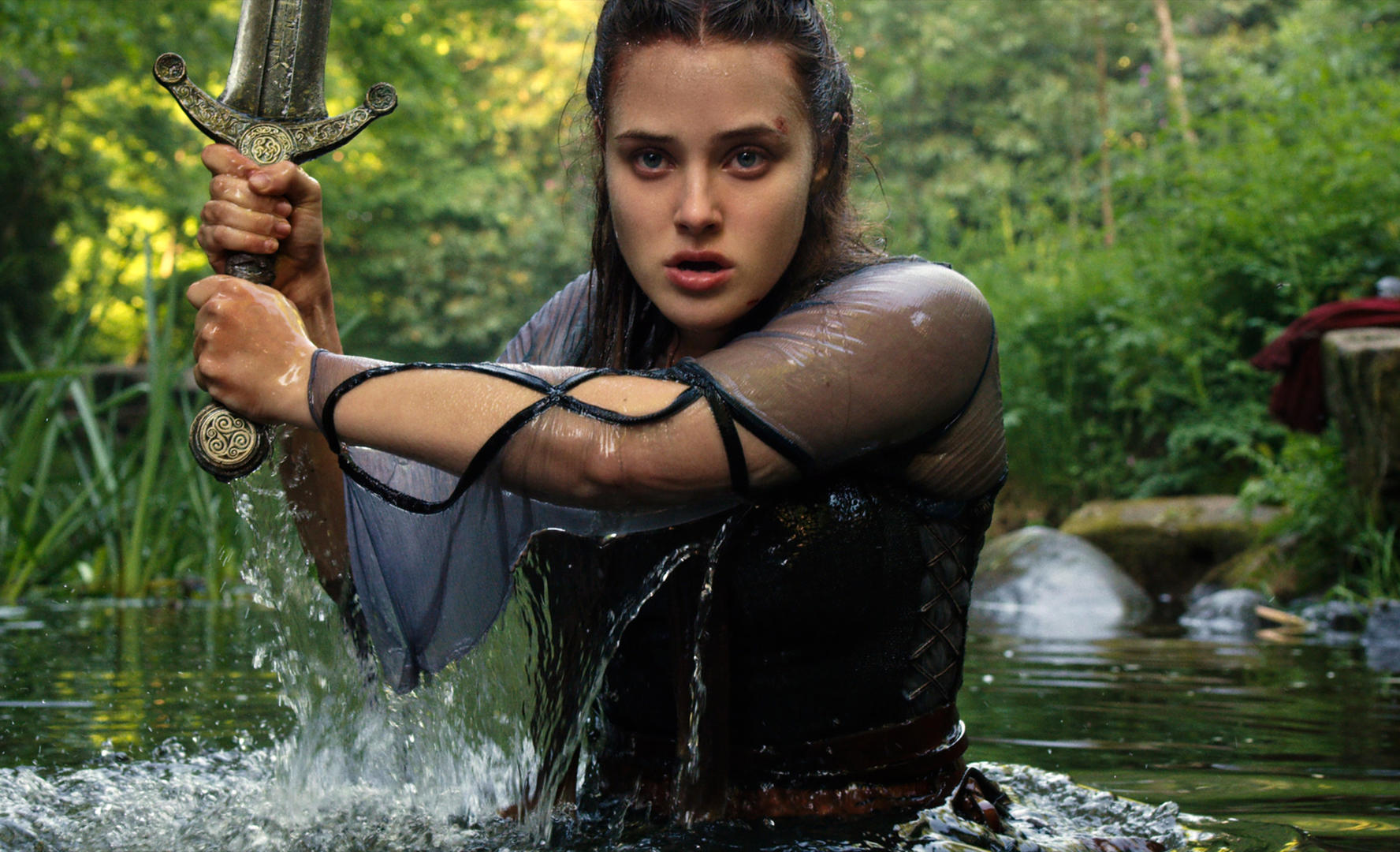 A First Look At The Lady Of The Lake On Her Own Epic Adventure In Netflix's Cursed