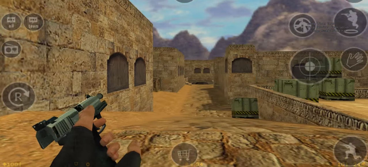 You Can Now Play Counter-Strike 1.6 On Android Phones