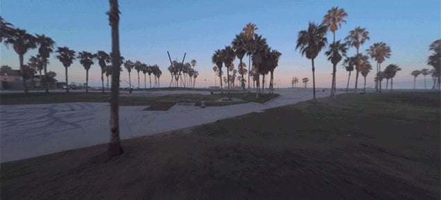 Watching This Drone Fly Through Venice Beach Is Really Breathtaking