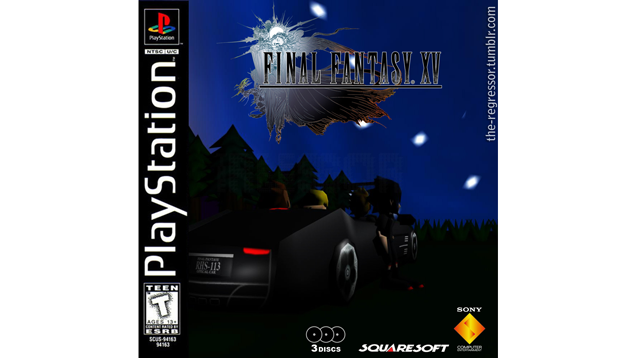 Final Fantasy XV... As A PlayStation 1 Game