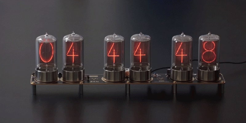 Take a Deep Dive Into the Beautiful Making of Nixie Tubes