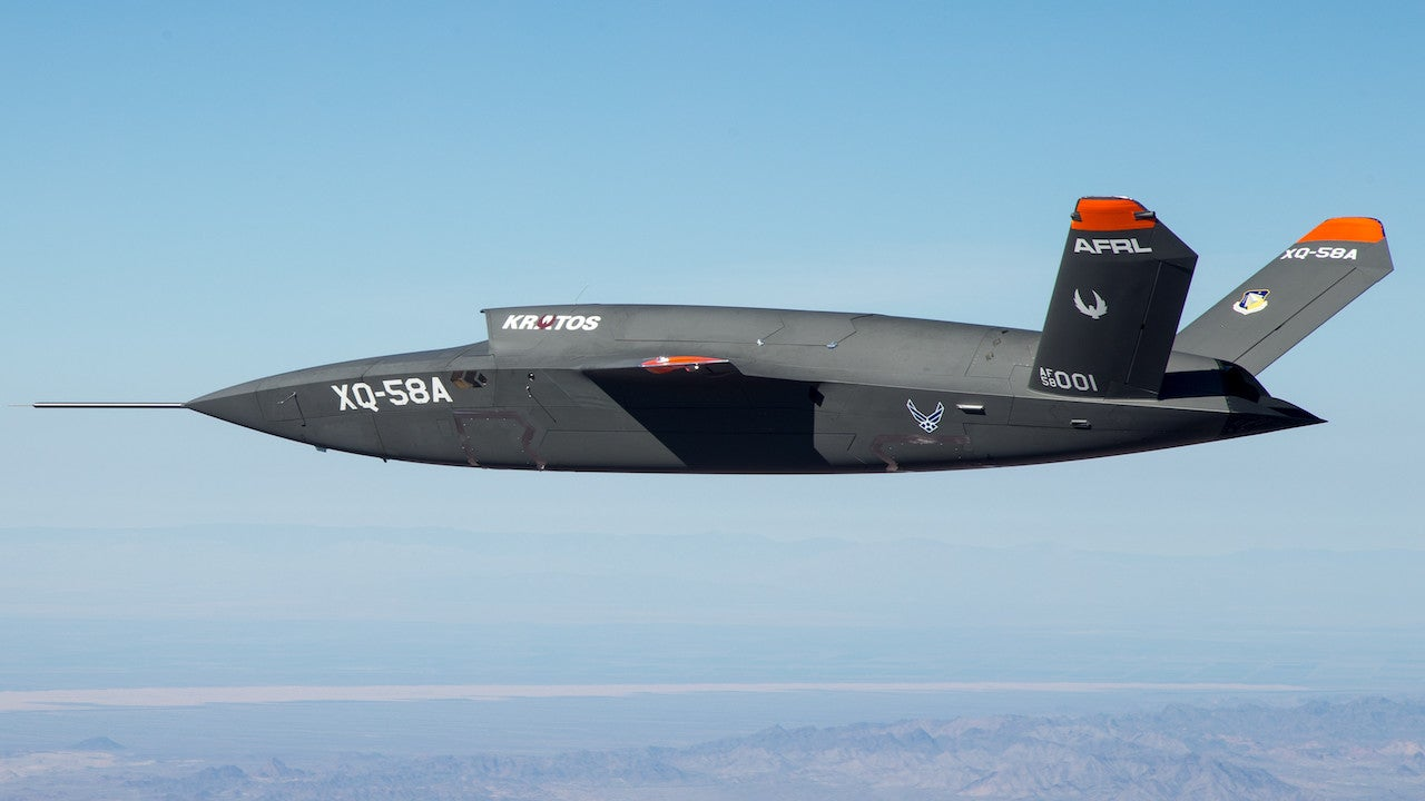 US Air Force Releases Video Of New Combat Drone, The XQ-58A Valkyrie