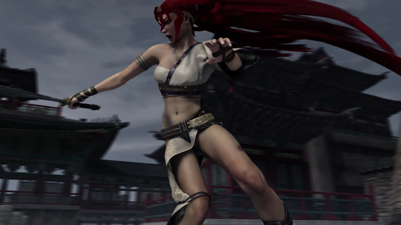 More Than A Minute of Mayhem from the Heavenly Sword Movie