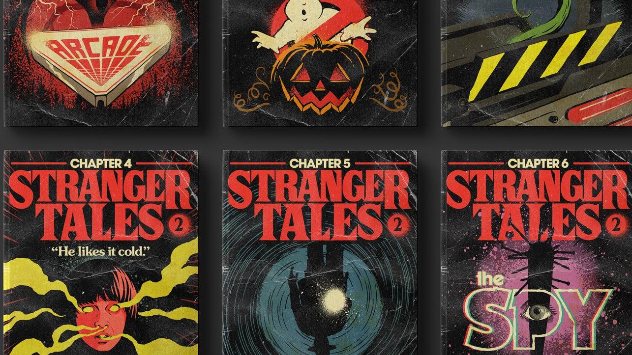 Artist Transforms Stranger Things Episodes Into Pulp Novels And Atari Games