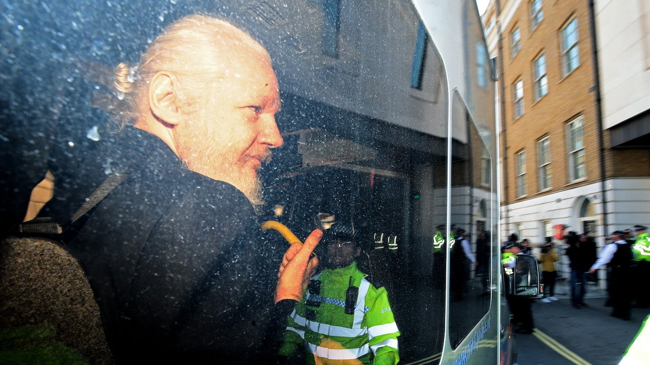 Julian Assange Sentenced To 1 Year In Prison For Jumping Bail In London