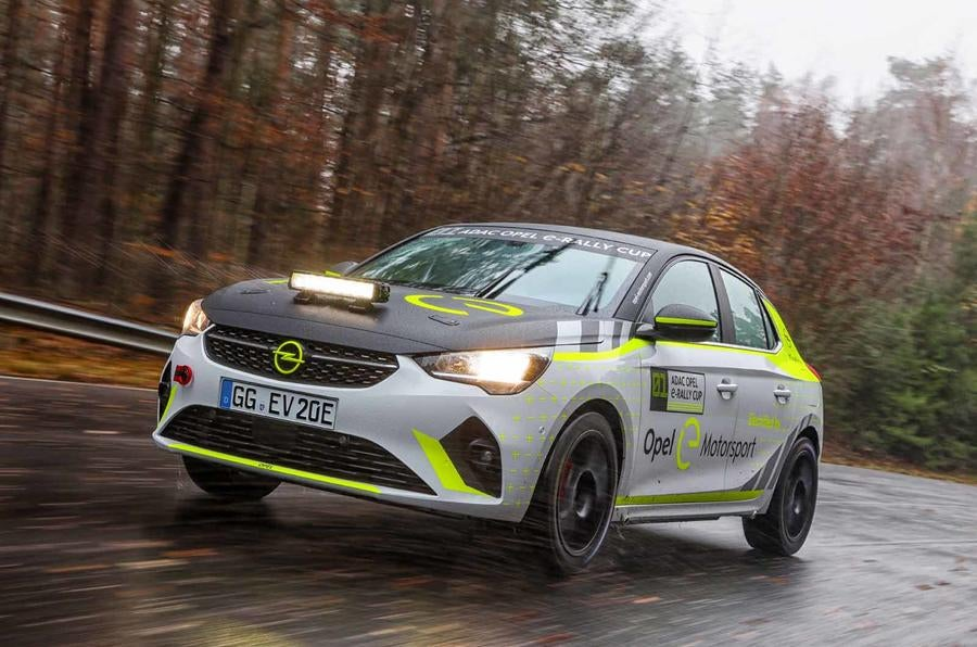 World's First Electric Rally Car Begins Testing